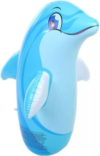 Bestway inflatable Dolphin tumbler bags baby nursery for children fitness toys
