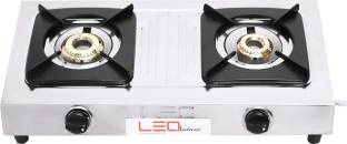 Leo Natura Smart Stainless Steel Manual Gas Stove
