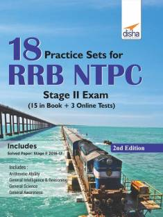 18 Practice Sets for Rrb Ntpc Stage II Exam