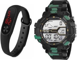b06cfcb4e gIfFeMaNs SPORT-5NIR6- New Digital Military Blue Combo Watch - For Boys  Watch -
