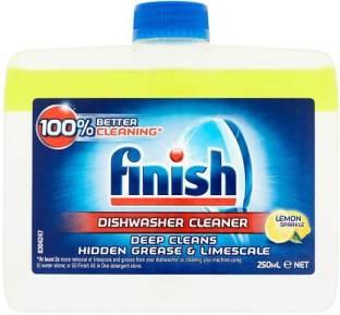 finish 5X Power Actions Dishwasher Cleaner Lemon-250Ml Dishwashing Detergent