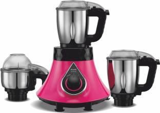 Preethi MG238 Mystic 750 W Mixer Grinder (3 Jars, Pink)
