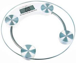 slipslop Digital Body Weight Scale for Human Health Personal Electronic LCD Display Round Weighing Machine Weighing Scale