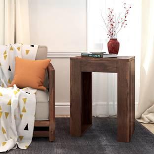 Urban Ladder Epsilon Side Table Solid Wood Side Table
