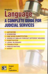 Language- A Completre Guide For Judicial Services
