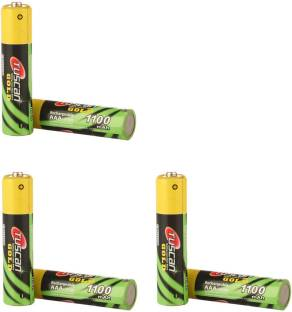 TUSCan GOLD 3 Pack (6Pcs) AAA 1100mAh (PAGER BATTERIES) Rechargeable Ni-MH Battery