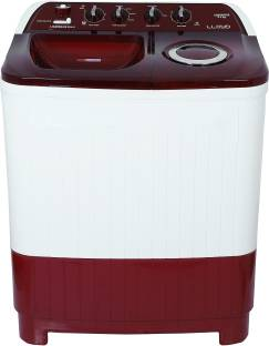 Lloyd 8.5 kg Semi Automatic Top Load Red, White