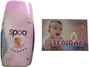 spoo Soap 75 gm & Shampoo 125ml Combo Pack