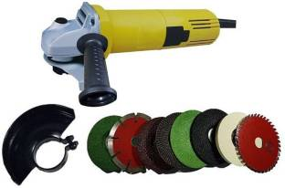 Sauran 850W AOGG 801 4inch angle grinder with 8 high quality wheels Angle Grinder