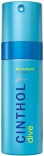 Cinthol Dive Deodorant Spray  -  For Men