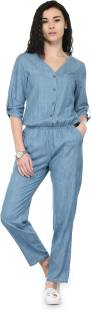Tunic Nation Solid Women's Jumpsuit