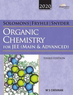 Solomons, Fryhle & Snyder Organic Chemistry for Jee (Main & Advanced)