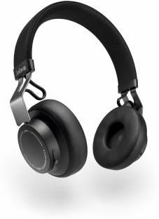 Jabra Move Style Edition, Black Wireless Bluetooth Music Headphones Bluetooth Headset