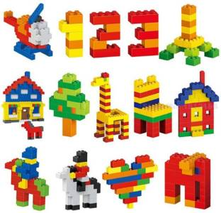 RVM Toys 450 Pcs of Building Blocks Construction Set Lego Compatible