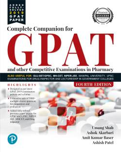 Complete Companion for Gpat and Other Entrance Examination in Pharmacy