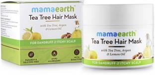 MamaEarth Anti Dandruff Tea Tree Hair Mask with Tea Tree and Lemon Oil For Danrduff Control