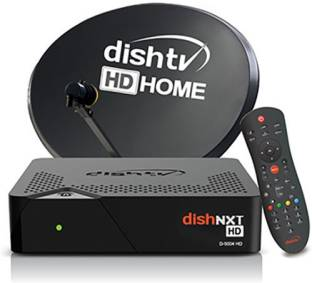 Dish TV HD Box with 1 Month Super Family HD