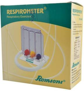 Romsons Repirometer 3-ball Respiratory Exerciser