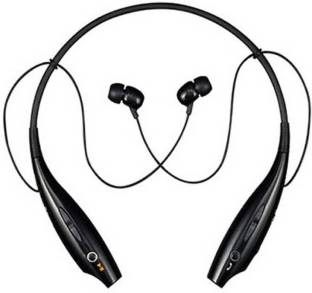 awf HBS 730 Wireless Blutooth black Bluetooth Headset with Mic