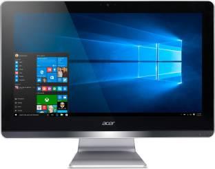 acer Aspire Z Pentium Quad Core  4  GB DDR3/1 TB/Windows 10 Home/19.5 Inch Screen/Z20 730  Black, 379.9 mm x 497.8 mm x 34 mm