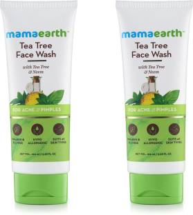 MamaEarth Tea Tree Natural  for Acne & Pimples Wash Face Wash