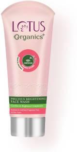 Lotus Organics+ Precious Brightening  Face Wash