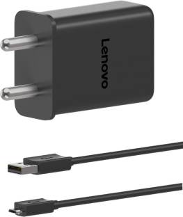 Lenovo LVSC25 3.0 Qualcomm Certified Quick Charge 15 W 3 A Mobile Charger with Detachable Cable