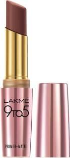 Lakmé 9 to 5 Primer Plus Matte Lip Color