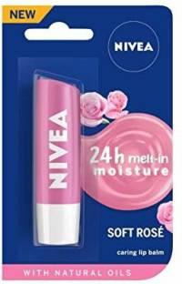 NIVEA Soft Lip Balm Rose