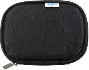 Saco External Hard disk Bag pouch 2.5 inch 2.5 inch Compatible enclosure for Toshiba, Western Digital, Seagate, Dell, Samsung, Sony, Hp, Hitachi, WD, Transcend