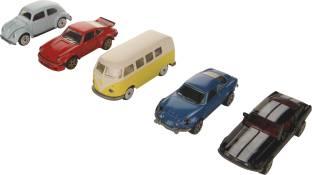 Majorette Vintage 5 Pieces Git Pack Car Set For Kids