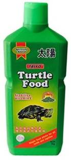 TAIYO Turtle Food 1kg with one Turtle Conditioner 1 kg Dry New Born, Young, Adult Turtle Food