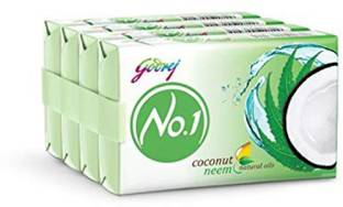 Godrej No.1 coconut and neem 50 gm soap (pack of 4)
