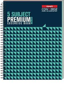 LUXOR Exercise Notebook-Seamless B5 Notebook Ruled 250 Pages