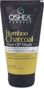 Oshea Herbals Bamboo Charcoal Peel-Off Mask