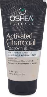Oshea Herbals Activated Charcoal Face  Scrub