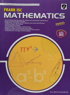 FRANK ISC MATHEMATICS PAPER CLASS 12