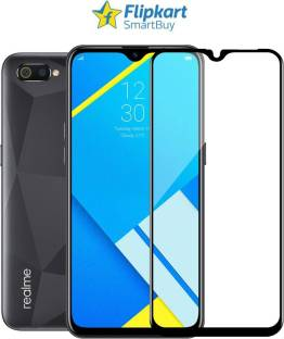 Flipkart SmartBuy Edge To Edge Tempered Glass for Gionee Max, Realme C2, OPPO A1K, Infinix Smart HD 2021