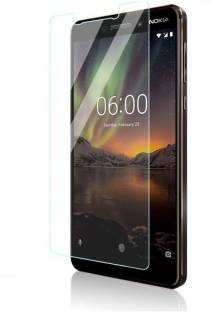 kmPPoWeR Tempered Glass Guard for Nokia 6.1