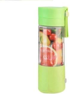 WDS 1 Portable USB Juicer Bottle Blender (Multicolour) 12 Juicer Mixer Grinder (1 Jar, Multicolor)