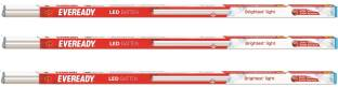 EVEREADY 20W 4ft T5 LED Batten pack of 3 U combo 6500k cool day white light combo Straight Linear LED Tube Light