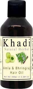 khadi natural herbal Bhringraj & Amla Hair Oil 100ml Hair Oil