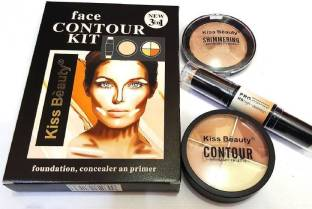 Kiss Beauty Foundation Face Counter Kit