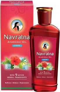 Navratna Ayurvedic Cool Hair Oil