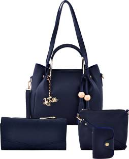 LaFille Women Blue Hand-held Bag