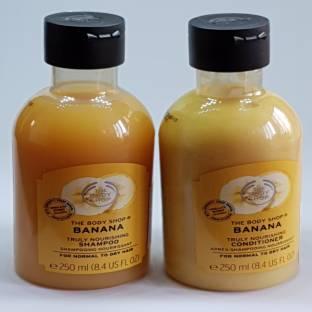 THE BODY SHOP Banana Shampoo / Conditioner