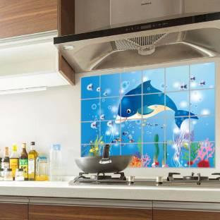 Jaamsoroyals Fishes Design Kitchen