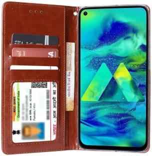 Unistuff Flip Cover for Samsung Galaxy M40