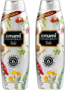 EMAMI Golden Beauty Moon Drop French Perfume Talc