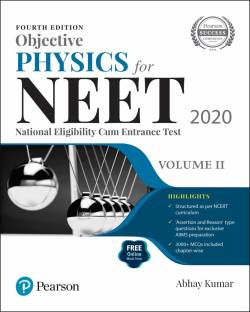 Objective Physics for NEET 2020 | Volume 2 | Fourth Edition | By Pearson